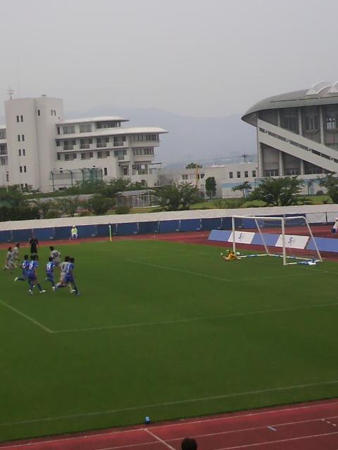 JFL前期第15<br />  節 SAGAWA SHIGA FC vs <br />  V・ファーレン長崎